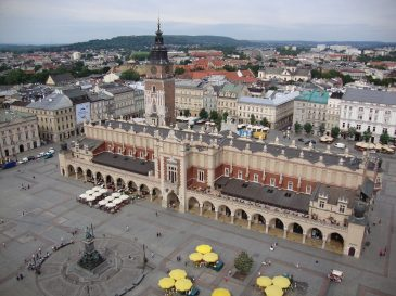 Kraków – miasto na trasie busa do Niemiec